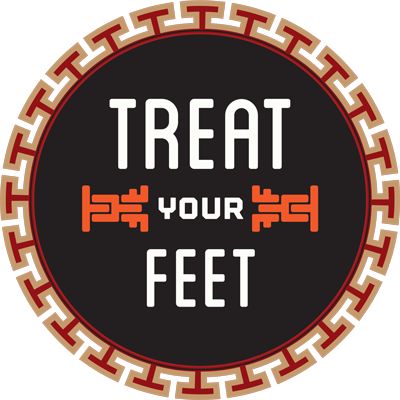 Atlanta's Treat Your Feet Massage Circular Logo