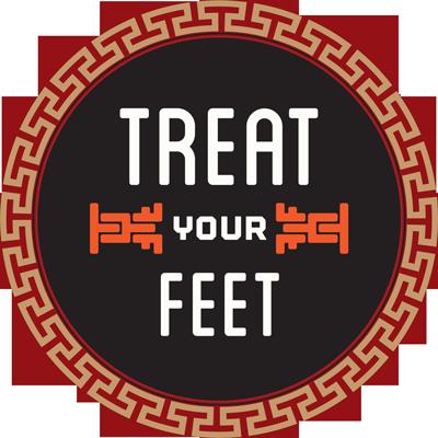 Atlanta's Treat Your Feet Massage Circular Logo