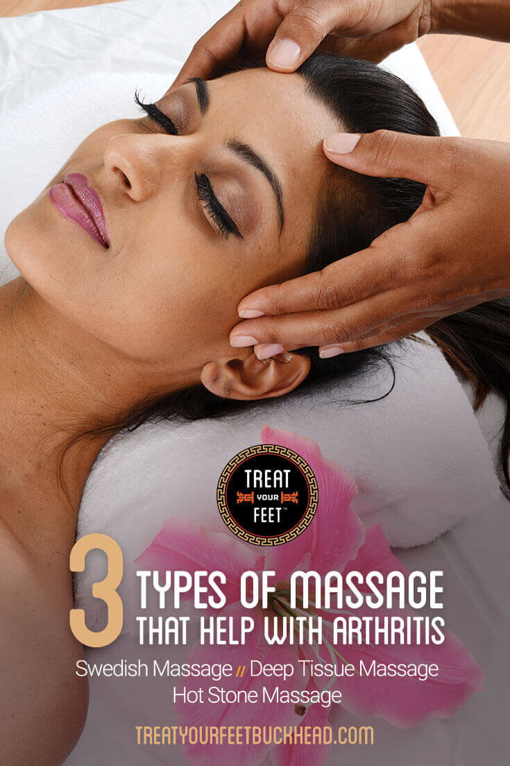 3 types of massage that help with arthritis