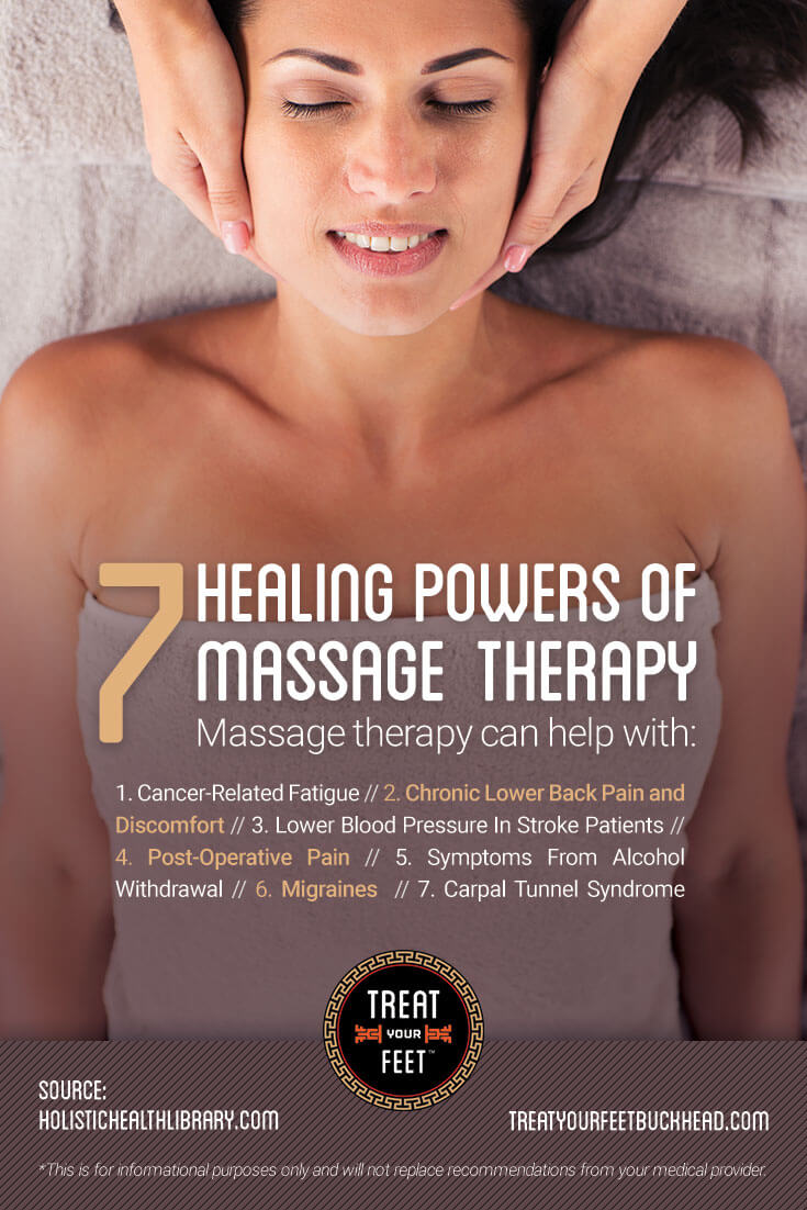 7 Healing Powers Of Massage Therapy