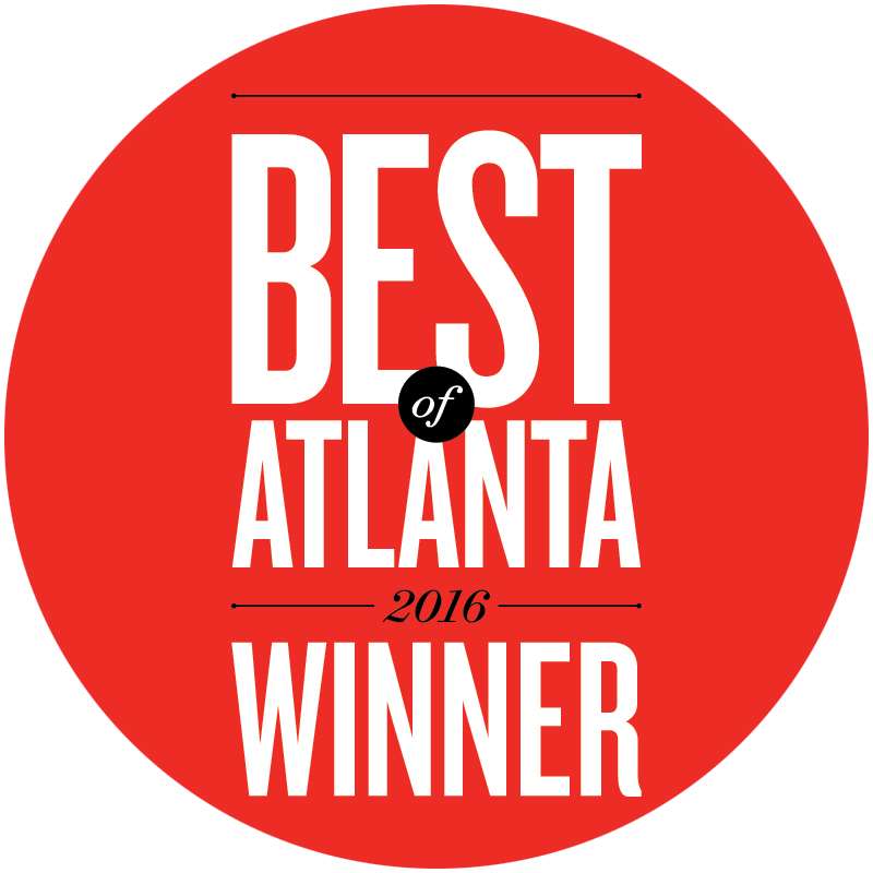 Treat Your Feet Buckhead won an Atlanta Magazine Best of Atlanta Award in 2016