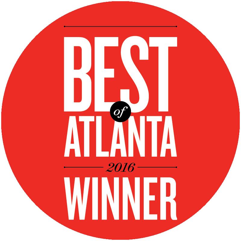 Treat Your Feet Buckhead won an Atlanta Magazine Best of Atlanta Award in 2016