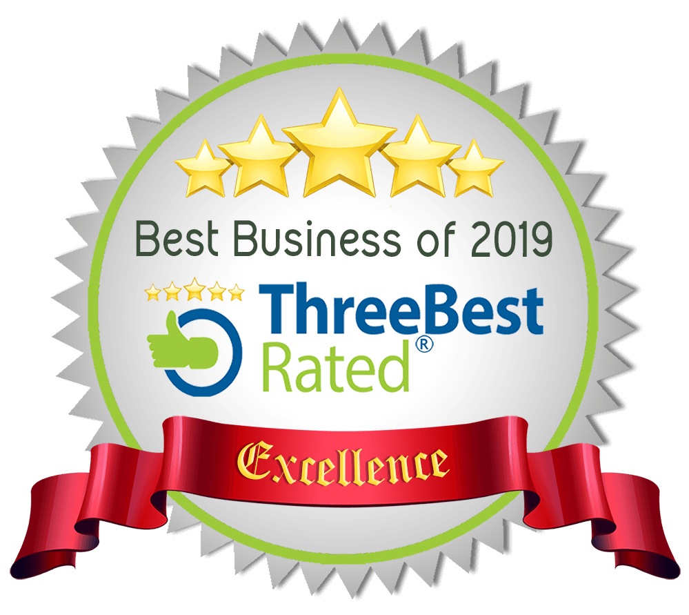 ThreeBestRated Award for Best Massage Therapy in Atlanta, GA